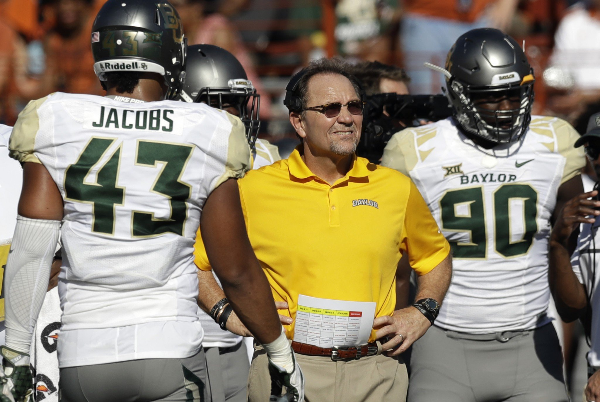 Phil Bennett was Baylor's DC for six seasons. (Getty)