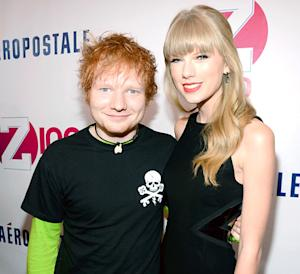 "Taylor Swift Romance Rumors Made Ed Sheeran ""Feel Like a Bit of a Stud"""