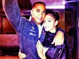 Nicole Scherzinger Tweets 'Love And Support' For Lewis Hamilton Following Grand Prix Crash