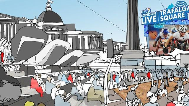 Trafalgar Square Live Site - The Games Venue Guide