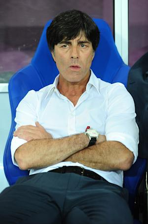 With Miroslav Klose not yet match-fit, Joachim Low opted for Mario Gomez in attack