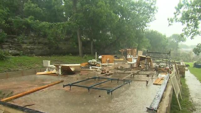Five killed in Texas and Oklahoma floods, Houston on alert