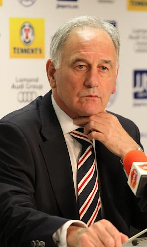 Charles Green claimed 'bigotry' was behind the refusal to allow Rangers to compete in the SPL this season