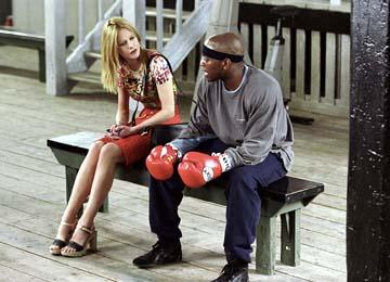 Meg Ryan and Omar Epps in Paramount's Against The Ropes