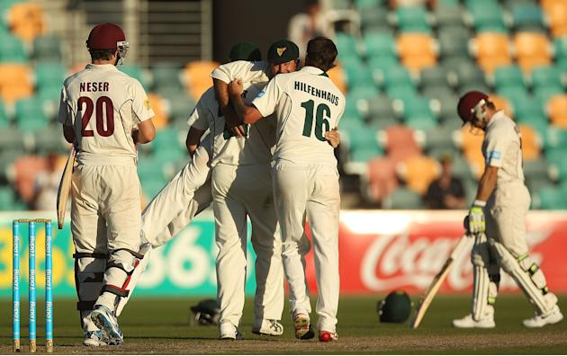 Sheffield Shield Final - Tasmania v Queensland: Day 5
