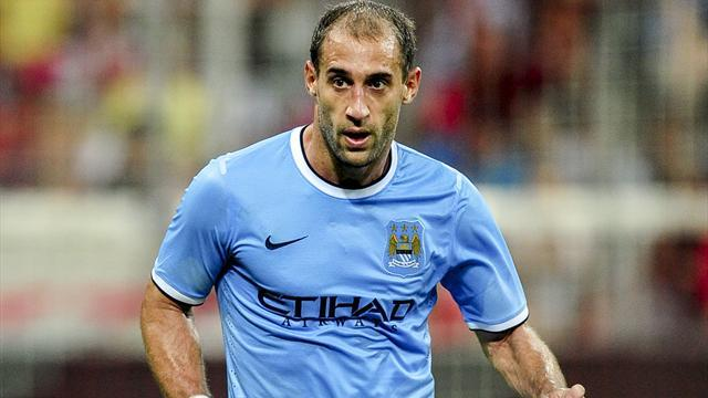 Premier League - Zabaleta wary of repeating final day drama