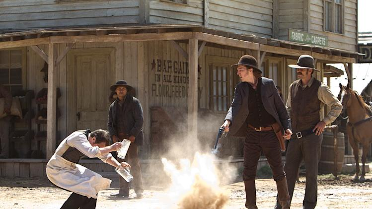 Cowboys and Aliens 2011 Universal Pictures Sam Rockwell Adam Beach Paul Dano Chris Browning