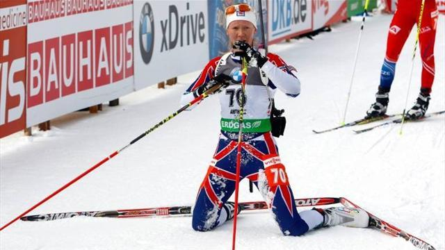 Biathlon - British biathlete hoping for Sochi redemption