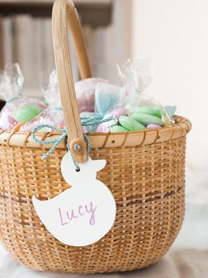 Personalize Easter Baskets