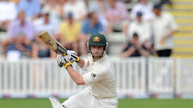 Australian Phil Hughes continued his excellent form for Worcestershire