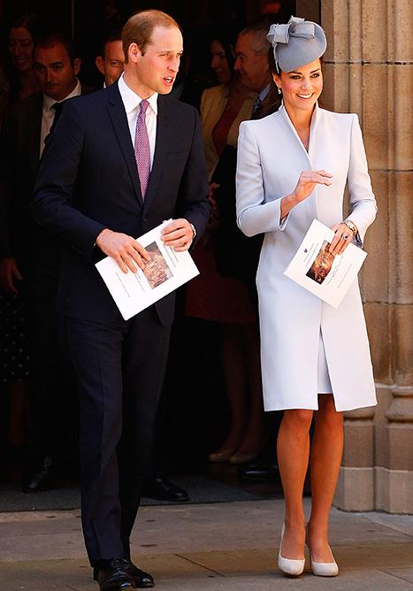 Kate Middleton, Prince William Attend Easter Service in Australia, Sign First Fleet Bible Under Diana's Name: Pictures