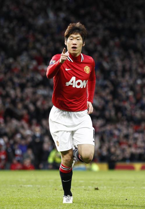"""Park Ji-Sung  - """"Tres pulmones Park"""" - exmediocampista de clubes como el Manchester United de Inglaterra.El apodo del brillante surcoreano se debe, nada más y nada menos, a la resistencia y capacidad"""