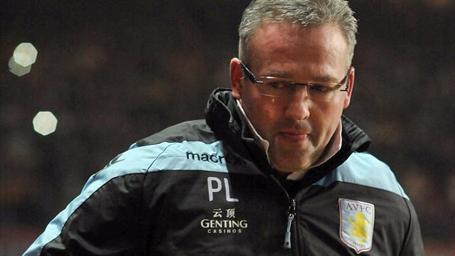 Premier League - Lambert happy with approach despite defeat