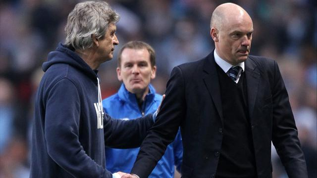 FA Cup - Martinez and Watson inspiration behind City upset- Rosler