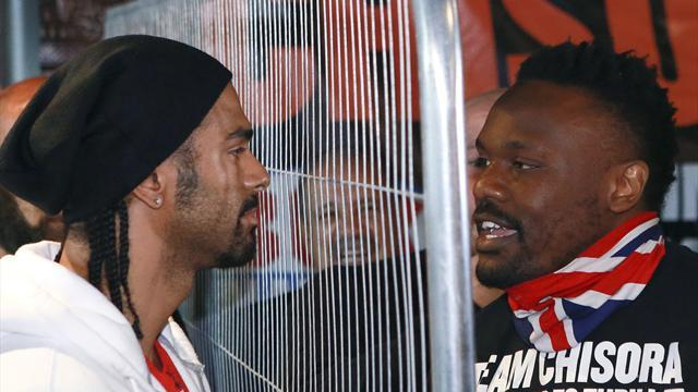Haye-Chisora is legit, says MMA fighter