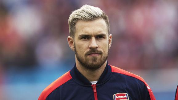 Aaron Ramsey in High Spirits After Returning to Arsenal Training