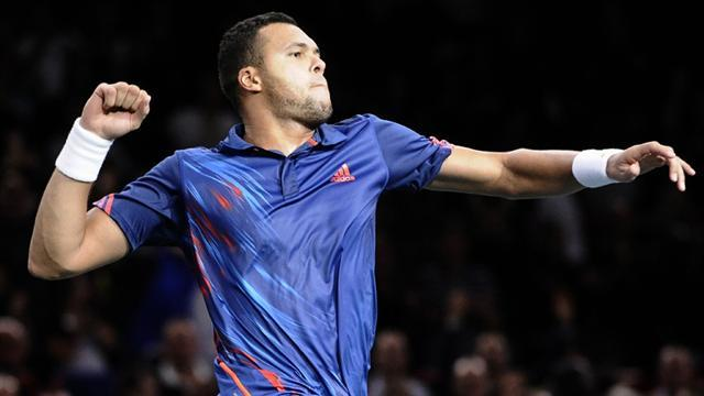 Paris Masters - Tsonga, Tipsarevic book O2 places with wins in Paris
