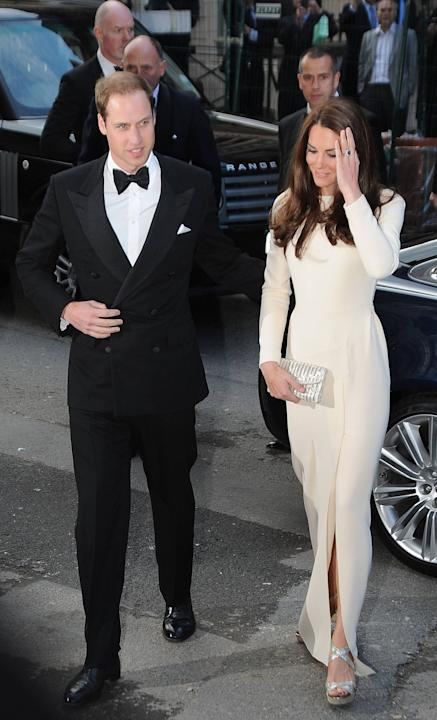 Prince William, Duke of Cambridge and Catherine, Duchess of Cambridge, aka Kate Middleton arriving at Claridges hotel London, England - 08.05.12 Mandatory Credit: Craig Harris/WENN.com