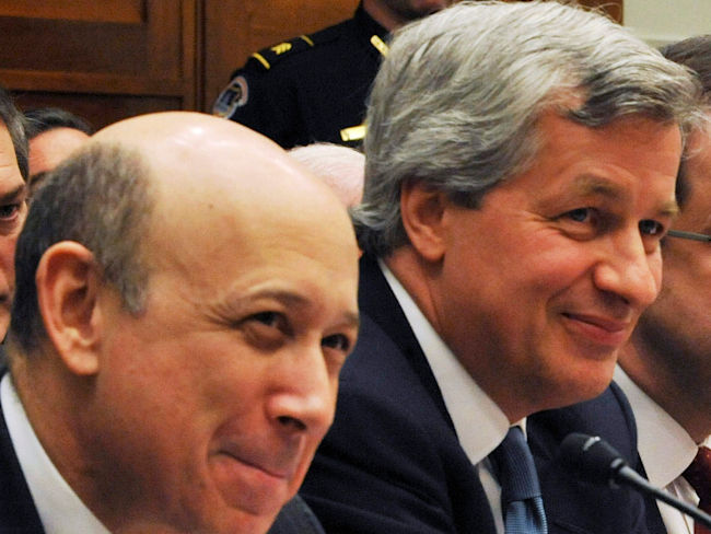 LLOYD BLANKFEIN: Jamie Dimon as Treasury Secretary would ...