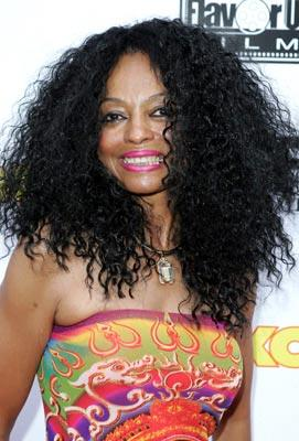 Diana Ross at the Miami premiere of Lions Gate's The Cookout