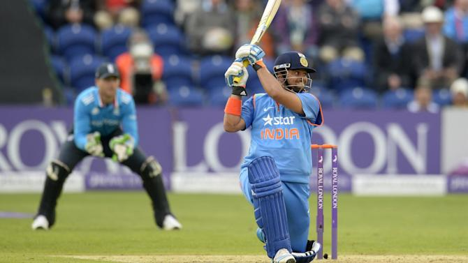 Cricket - Raina century steers India to victory over sorry England