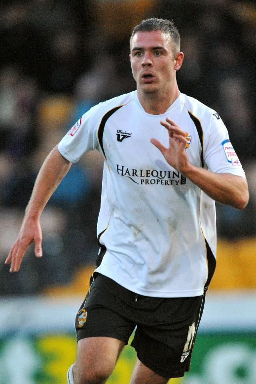 Port Vale's Tom Pope, who scored four goals against Rotherham