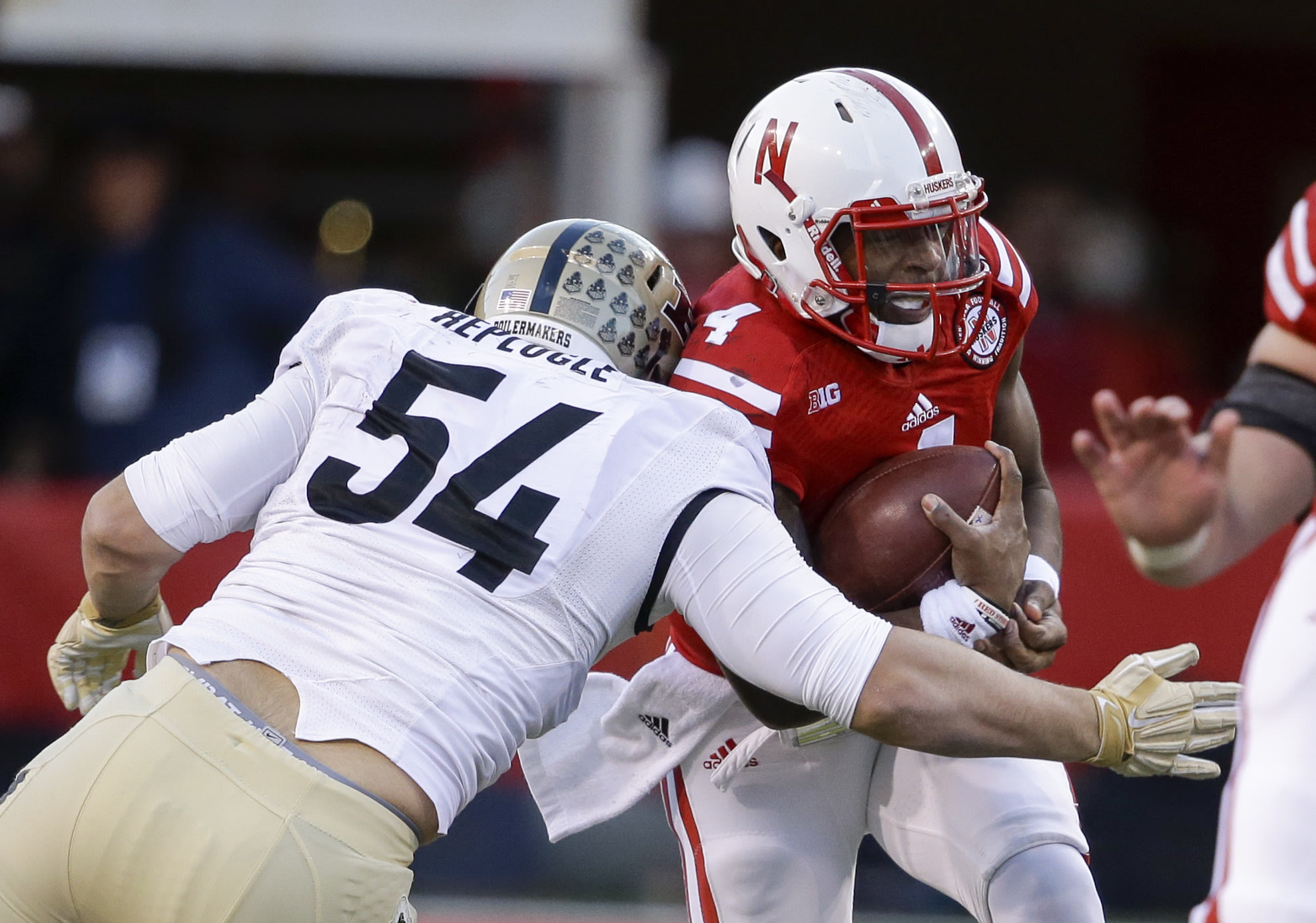 Jake Replogle has over 30 tackles for loss in the past three seasons. (Getty)