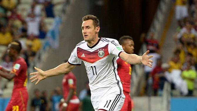 World Cup - Mild-mannered Klose might let 'party animal' out if Germany win