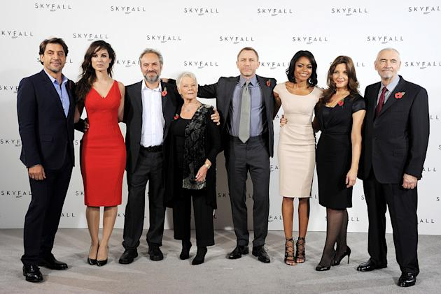 Skyfall press conference 2011