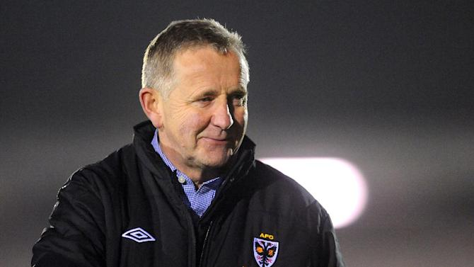 AFC Wimbledon have held talks with Terry Brown