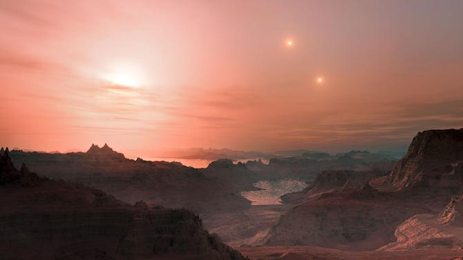 Distant planets