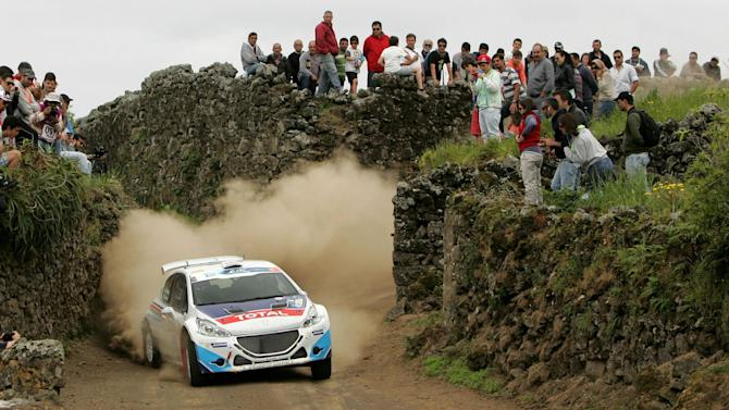 ERC - Abbring on top after street-stage thriller