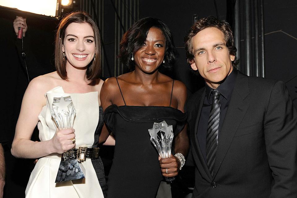 14th Annual Critics' Choice Awards 2009 Anne Hathaway Viola Davis Ben Stiller