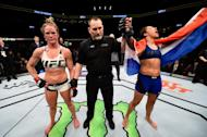 Holly Holm files complaint about referee, appeals title loss to Germaine de Randamie
