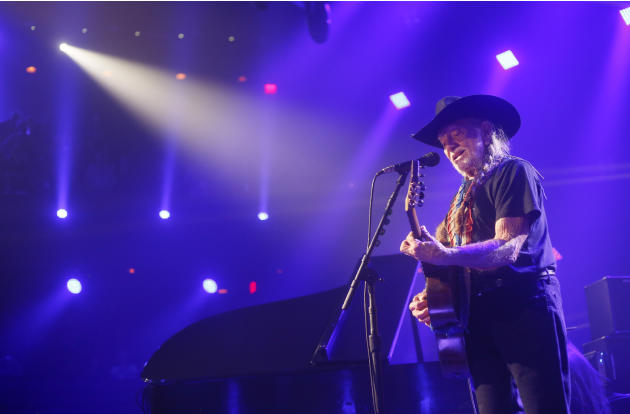 FILE - In this March 15, 2014 file photo, Willie Nelson performs at the iTunes Festival during the SXSW Music Festival in Austin, Texas. Nelson announced Monday, April 20, 2015, he plans to roll out h