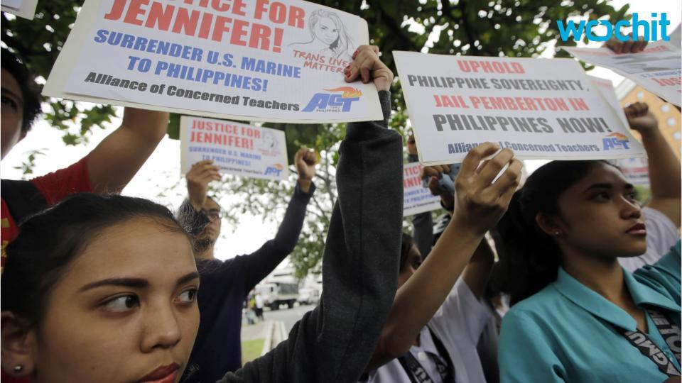Manila seeks custody of US Marine in murder case