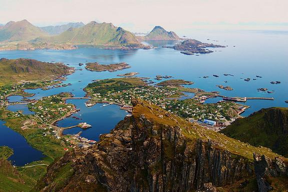 Using traces of human feces in lake sediments, scientists have recreated the history of a settlement in the Lofoten Islands, Norway, an archipelago north of the Arctic Circle