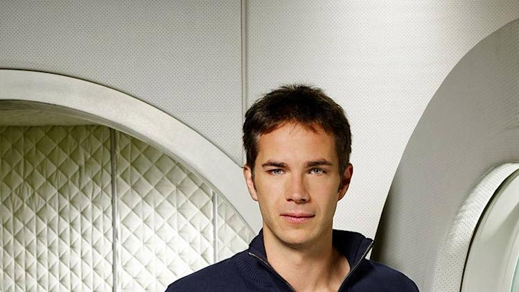 "James D'Arcy as Dr. Roger Fallon in ""Virtuality."""