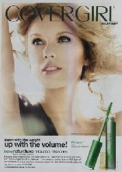 The now-pulled Taylor Swift CoverGirl ad -- CoverGirl