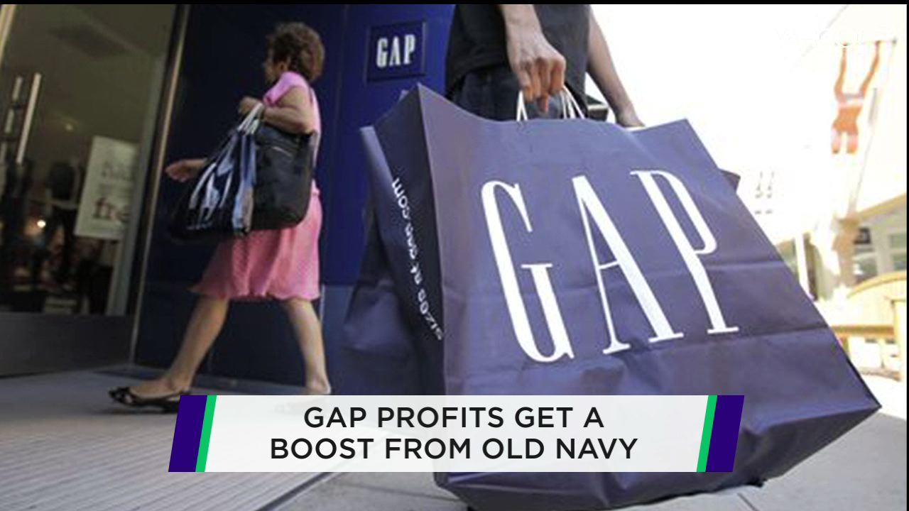 Old Navy boosts The Gap; J.C. Penney disappoints; Weight Watchers