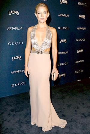 Kate Hudson Shows Off Sleek, Toned Physique in Body-Baring Gown at 2013 LACMA Gala