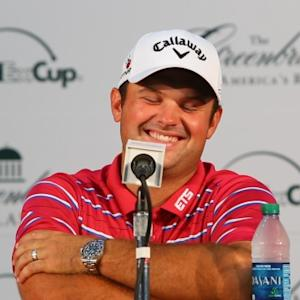 Patrick Reed discusses the source of his confidence before The Greenbrier