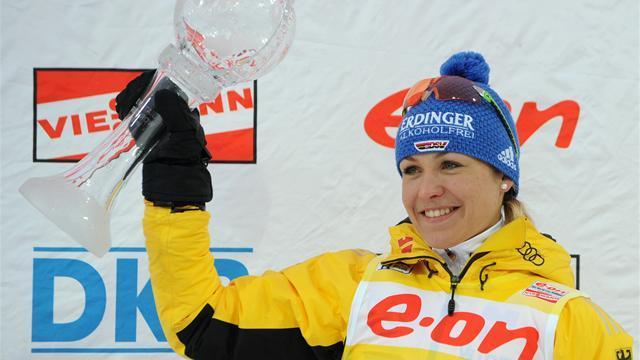 Biathlon - Neuner signs off as overall champion