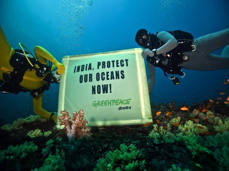 Travel Ocean Andamans Greenpeace