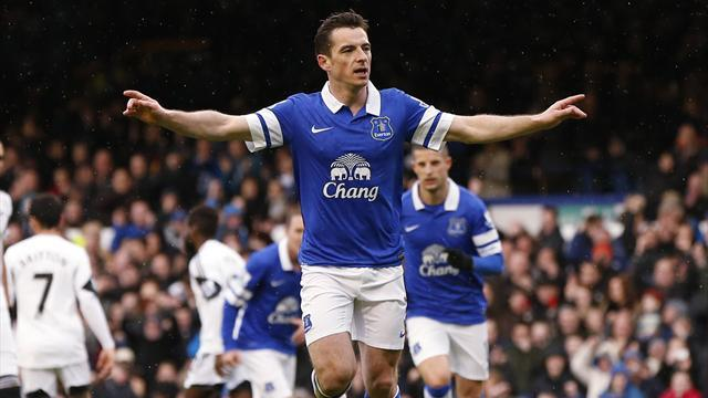 Premier League - Everton edge Swansea to climb to fifth