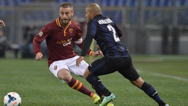 Serie A - AS Roma held by Inter Milan