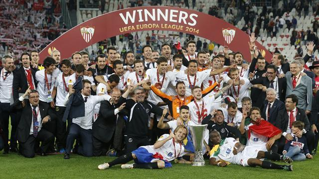 Europa League - Sevilla snatch victory in shootout after thrilling stalemate