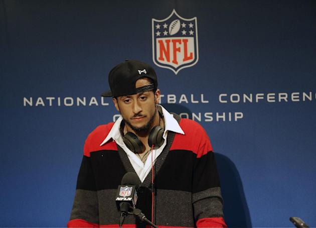 Colin Kaepernick defends reputation