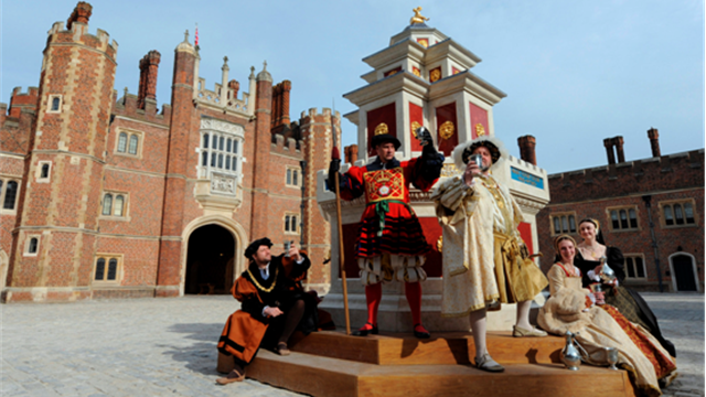 Hampton Court - The Games Venue Guide