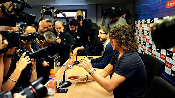 Carles Puyol Announces He Will Leave FC Barcelona At End Of Season